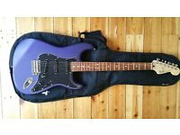 Fender Stratocaster FSR Mexican MIM Rare colour Satin Purple/Blue **Mint Condition**