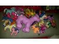 Bundle of ponies (not my little ponies)