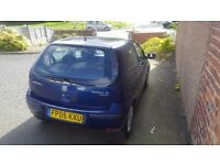 Vaxuall corsa, Blue, Sxi petrol, lovely car to drive. 12months Mot