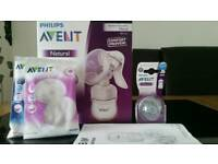 *SOLD* AVENT MANUAL PUMP AND NEW TEATS