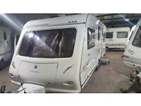 Elddis Queensfurry 636 6 Berth 2005 Caravan With motor mover