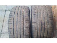 2 x Kinforest KF550 255/35ZR18 Tyres