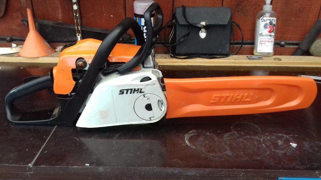 Stihl chainsaw model ms181c easy start good condition new chain stihl chainsaw model ms181c easy start good condition new chain very clean greentooth Images