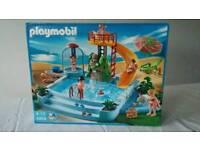 Playmobil fun swimming pool.
