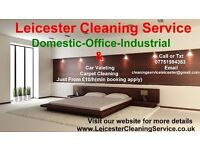 Leicester Cleaning Service Carpet Cleaning ,Domestic,Office,Industrial,Car Valeting Service Cleaners