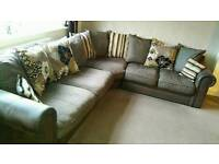 Couch settee sofa corner group.