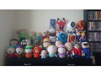 South park plush/soft toys collection