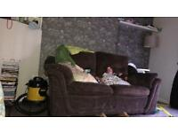(FREE)2x2 brown sofas
