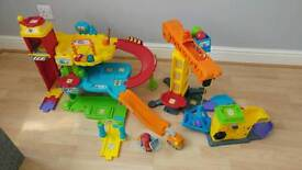Toot toot drivers Garage and Construction Sets