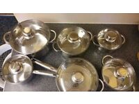 COOKWARE SET - ROYALTY LINE SWITZERLAND- NEW
