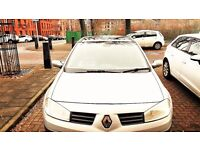 Renault Megane 1.5 DCI (Diesel) Full Service History, 72500 Miles Only, M.O.T Aug 2017(1 full year)