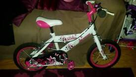 """Immaculate little girls bike 14"""" suit age 5--7"""