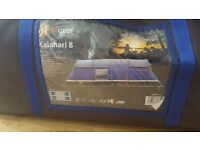 Brand New Hi-Gear Kalahari 8 Man Tent - Blue