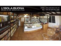 DELI SHOP AND WAREHOUSE ASSISTANT