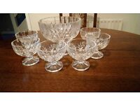 Crystal Glass Dessert Bowls - all offers considered