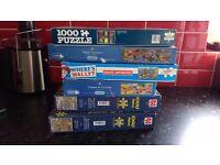 6 x 100 piece jigsaw puzzles