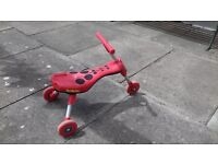 Ladybird Scuttlebug would suit child age 2 to 3 year