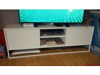 TV STAND White (read ad for awesome deal)