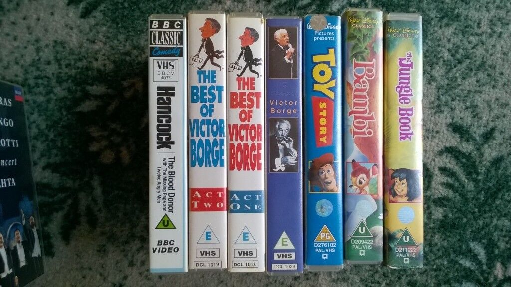 VHS TAPES | in Shifnal, Shropshire | Gumtree