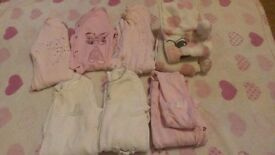 Baby girls clothes 0-3M