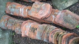 Reclaimed clay pantiles