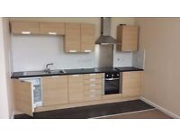 A modern unfurnished 1 bed ground floor flat located in a renovated old Church in Pudsey.