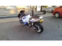 Suzuki gsxr 600 one year M.O.T £1.800 O.N.O