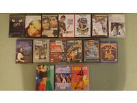 Wholesale Job Lot of 16 DVDs - boot sale