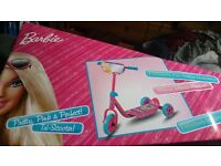 Barbie Scooter! BRAND NEW IN BOX!