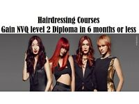 Hairdressing Course NVQ Level 2 Diploma-Special offer £2000 - Usual price £3400-offer ends 31/07/16