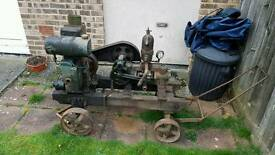 LLister d and water pump