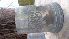 Antique Pewter Pint Mug / Tankard Circa 1835