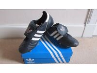 Adidas Profi SG Navy football boots size 9.5/10 very good to near mint condition