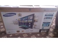 """SAMSUNG 32"""" LED TV SMART/FREEVIEW HD/100HZ/MEDIA PLAYER/WIFI/ENERGY CLASS A/BOXED MUST SEE"""