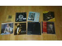 "8 x eric clapton - box sets / 7"" singles / promo cd /"