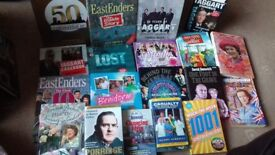 Job Lot of 19 TV Show Reference/Tie-in Books