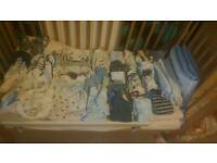 Boys clothes 0-3 month bundle 67 items
