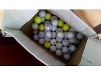 70 golf balls of different brands - good condition