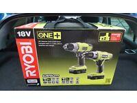 Ryobi one + 18v hammer drill and driver