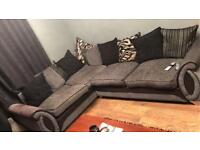 Corner Sofa and Two seater couch