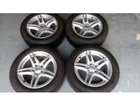 BMW 5 Series (F10/F11 - 2009 through 2017) Alloy Winter Wheels with Premium Runflat Tyres