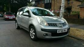 Nissan Note 1.6 Manual 2006 silver