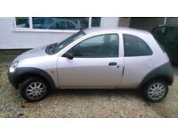 Ford Ka 53 plate, low mileage, NEEDS MOT/USEFUL FOR SPARES