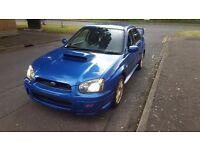 Subaru Impreza wrx sti jdm widetrack dccd 6 speed