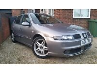 IMMACULATE SEAT LEON 1.9TDI CUPRA IN MINT CONDITION FOR AGE! AWESOME SORT AFTER CAR!