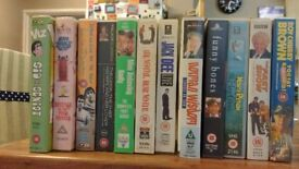 SELECTION OF 12 ADULT COMEDY VHS VIDEOS