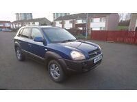 hyundai tucson cdx jeep suv 2007 2l petrol, 4x4, leather heated seats, excellent condition