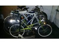 JOB LOT OF BIKES, ,,ALL NEED WORK, ,,RALEIGH EQUIPE ROAD BIKE, ,,,