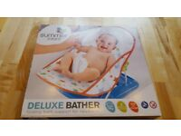 baby bath brand new still boxed and sealed for new born to 9kg for use in adult bath