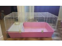 Guinea Pig Cage (Pink)